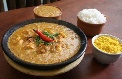 Do outro lado da cidade, o  melhor da comida baiana