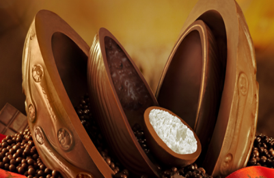 A páscoa está chegando. Não esqueça de um bom chocolate