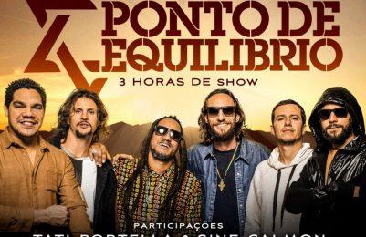 Banda Ponto de Equilíbrio estreia novaturnê em Salvador no próximo dia 19