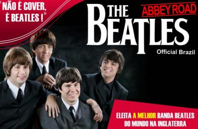 Banda eleita melhor cover dos Beatles do mundo, Beatles Abbey Road faz show no TCA