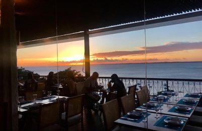 Restaurante Egeu, onde paisagem e boa comida se completam