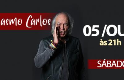 Erasmo Carlos faz show em Feira de Santana dia 5 de outubro