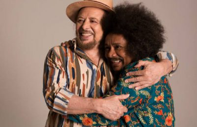 Geraldo Azevedo e Chico César cantam em maio no Teatro Castro Alves